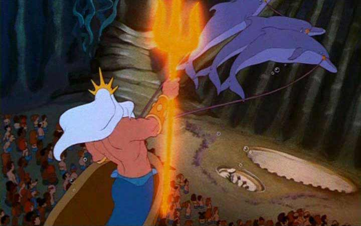Sfondi cartone animato walt disney la sirenetta